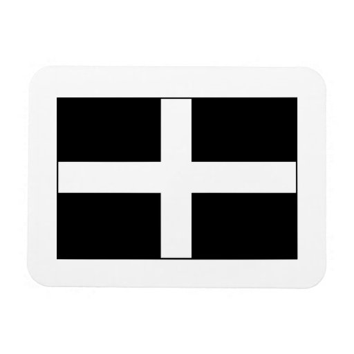 Cornwall Cornish Flag  St. Piran's Vinyl Magnets