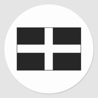 Cornwall Cornish Flag  St. Piran's Sticker