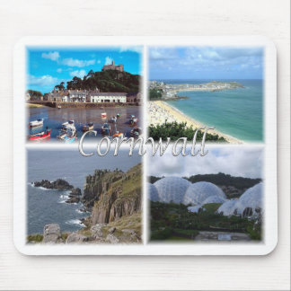 Cornwall England Land'S End St. Ives Eden Projec Mouse Mat
