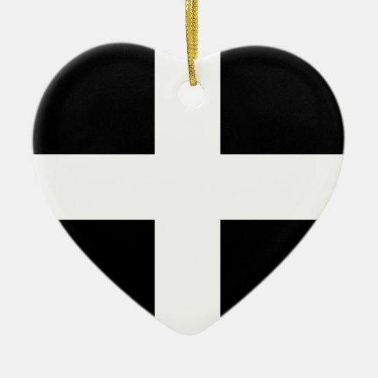 Cornwall flag..jpg christmas ornament