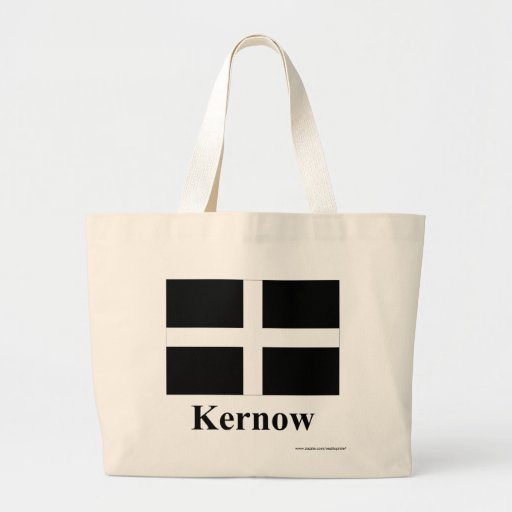 Cornwall Flag with Name in Cornish Tote Bag