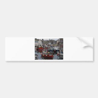 Cornwall, Mevagissey port Bumper Sticker