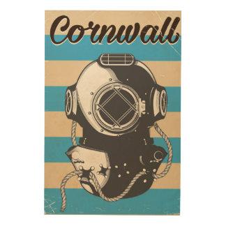 Cornwall Nautical travel poster