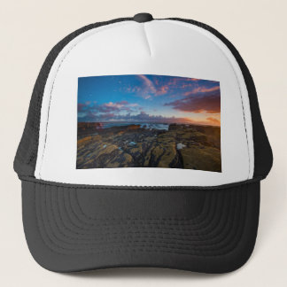 Cornwall Sunset Trucker Hat