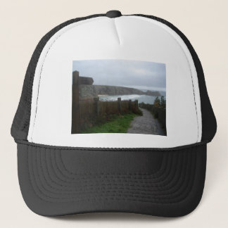 Cornwall view trucker hat