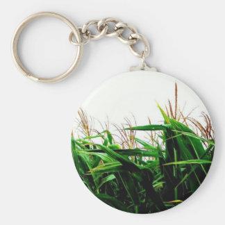 Corny Basic Round Button Key Ring