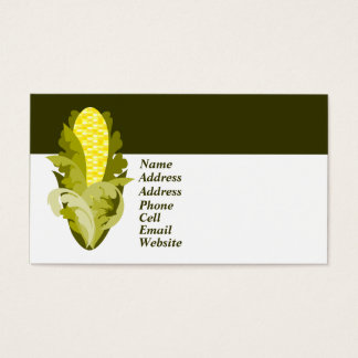Corny Business Card