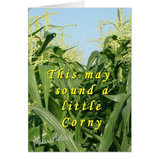 Corny-customize Card