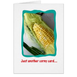 Corny Miss You Card