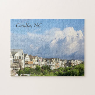 Corolla, NC. Outer Banks beach vacation puzzle