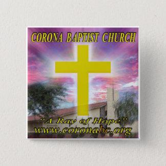 Corona Batist Church Pin