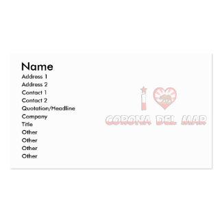 Corona del Mar, CA Business Card Templates