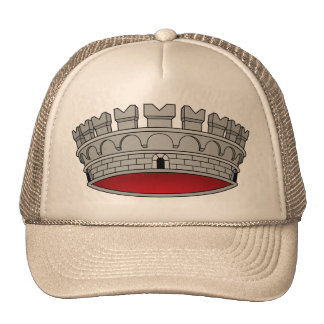 Corona di comune, Italy Trucker Hats