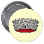 Corona di comune, Italy Pins