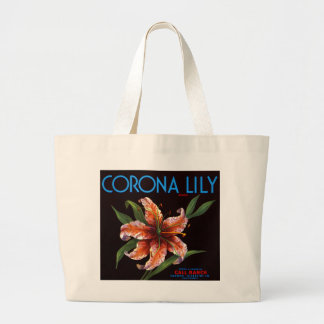 Corona Lily Jumbo Tote Bag