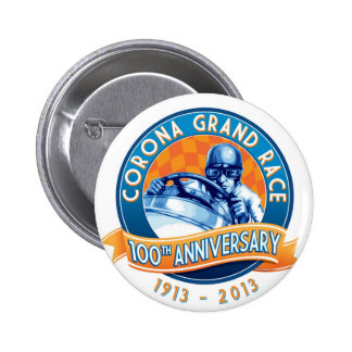 Corona Road Races 100th Anniversary 6 Cm Round Badge
