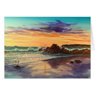 CORONADO BEACH SUNSETJPEC CARD