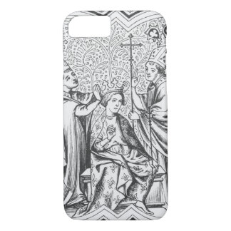 Coronation of Charlemagne (742-814) after a miniat iPhone 7 Case