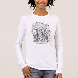 Coronation of Charlemagne (742-814) after a miniat Long Sleeve T-Shirt