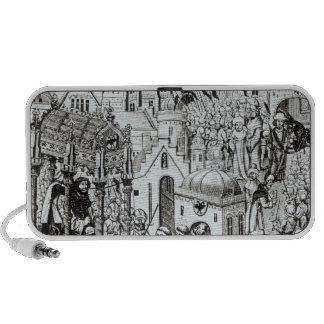 Coronation of Charlemagne in City of Jerusalem iPhone Speaker