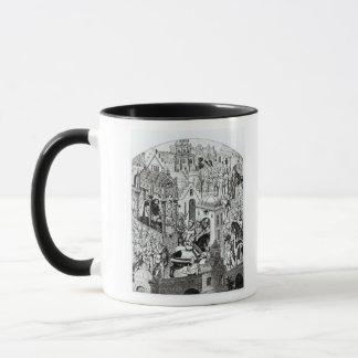 Coronation of Charlemagne in City of Jerusalem Mug
