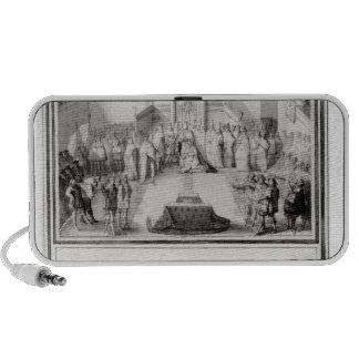 Coronation of Francis II Portable Speakers