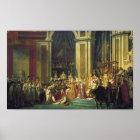 Coronation of Napoleon Poster