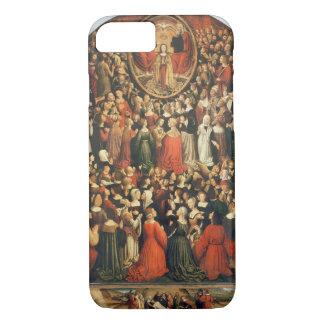 Coronation of the Virgin, 1513 (oil on panel) iPhone 7 Case
