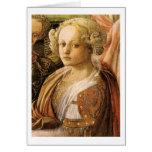Coronation Of The Virgin By Fra Filippo Lippi Card