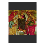 Coronation Of The Virgin By Signorelli Luca (Best Print