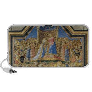 Coronation of the Virgin, c.1430-32 iPhone Speaker