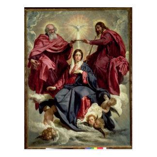 Coronation of the Virgin, c.1641-42 Postcard
