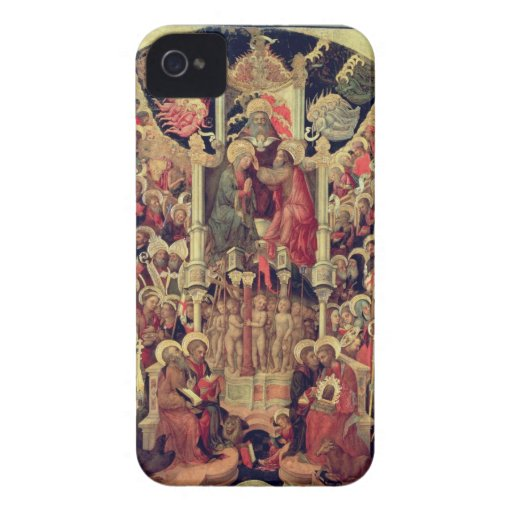 Coronation of the Virgin iPhone 4 Cases