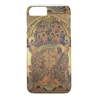 Coronation of the Virgin (detail of the polyptych) iPhone 8/7 Case