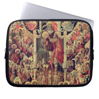 Coronation of the Virgin Laptop Computer Sleeve