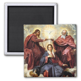 Coronation of The Virgin Mary Magnet