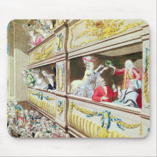 Coronation of Voltaire at the Theatre Francais Mouse Mat