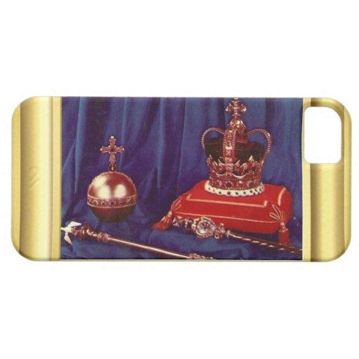 Coronation Regalia of Queen Elizabeth II iPhone 5 Cases