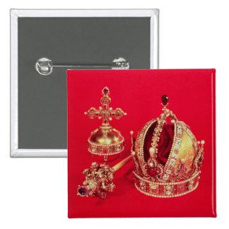 Coronation Regalia of Rudolph II 15 Cm Square Badge