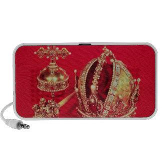 Coronation Regalia of Rudolph II Laptop Speakers