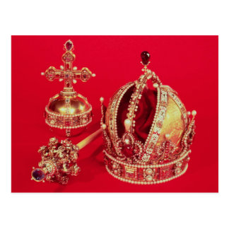 Coronation Regalia of Rudolph II Postcard