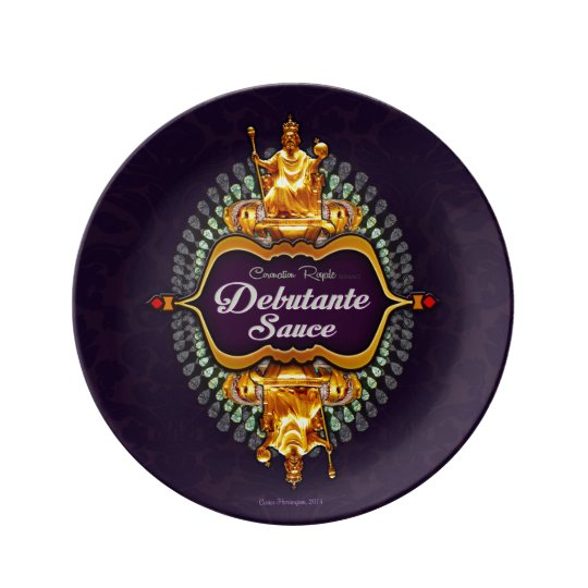 Coronation Royale Brand Debutante Sauce Plate