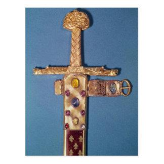 Coronation sword of the Kings of France Postcard
