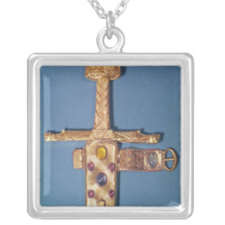 Coronation sword of the Kings of France Silver Plated Necklace