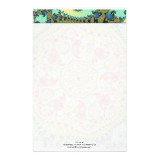 Coronel - Fractal Personalized Stationery