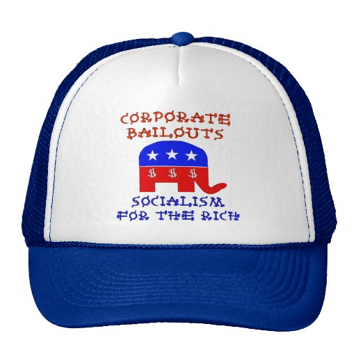 Corporate Bailouts Hats