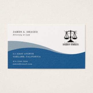 Corporate Business Card : Blue Wave