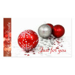 Corporate Business Holiday Gift Certificates