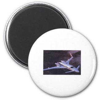 Corporate Cunard Wing 6 Cm Round Magnet