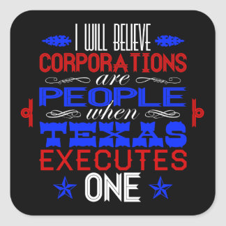 Corporate Death Row Sticker